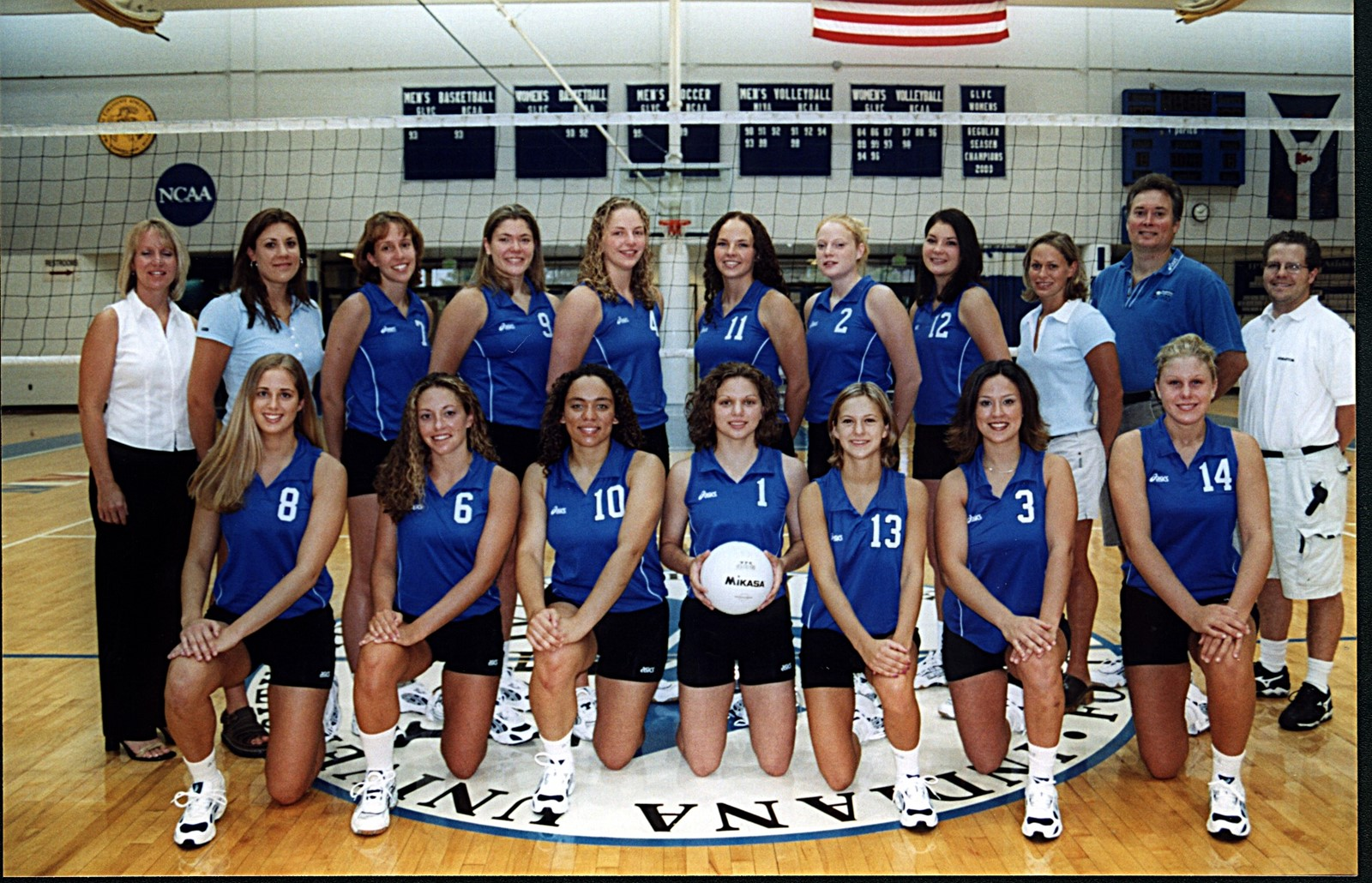 2001 Women S Volleyball Roster Purdue Fort Wayne Athletics