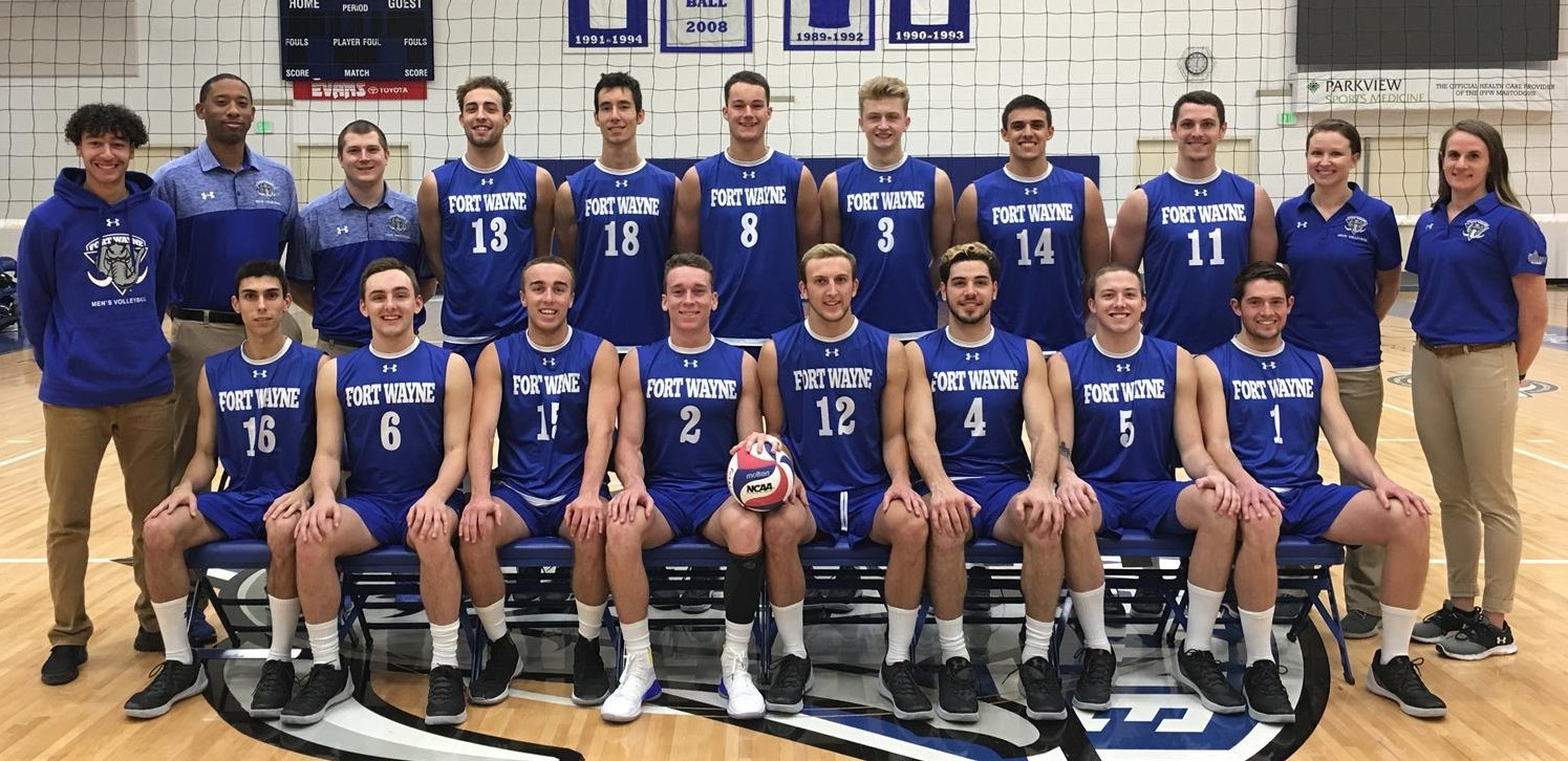 2018 Men S Volleyball Roster Purdue Fort Wayne Athletics
