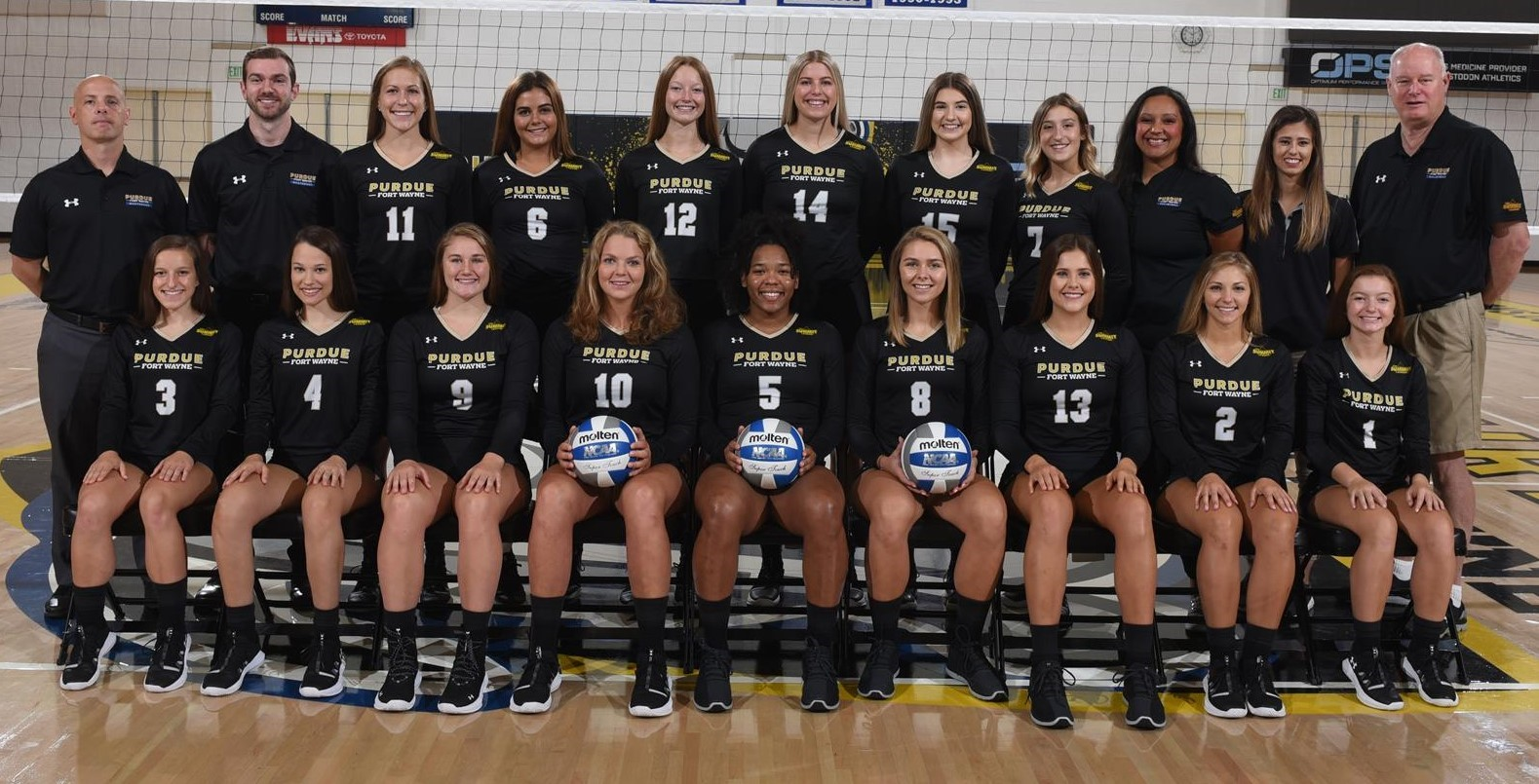2019 Women S Volleyball Roster Purdue Fort Wayne Athletics